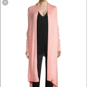 DKNY Jeans Blush Pink Duster Sweater
